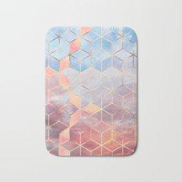 Magic Sky Cubes Bath Mat
