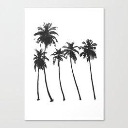 Five Palms Canvas Print