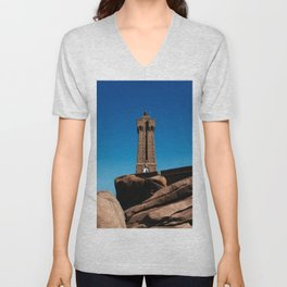 Mean Ruz Lighthouse Unisex V-Neck