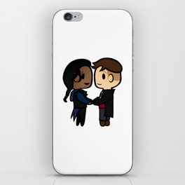 Inej x Kaz - Six of Crows / Crooked Kingdom (B) iPhone Skin