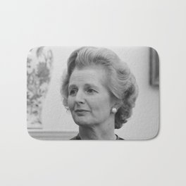 Margaret Thatcher Bath Mat