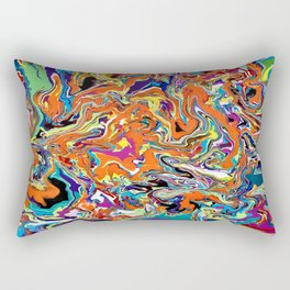 Psychedelic Dream Rectangular Pillow
