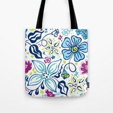 Fling Flowers Tote Bag