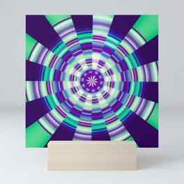 Center Point Mini Art Print