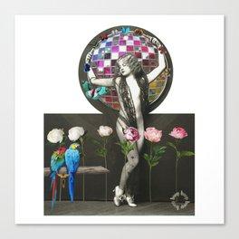 Hoop Elegance. Canvas Print