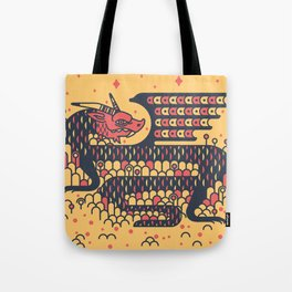 Dragon Boy Tote Bag