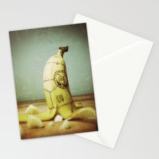 Moby's Little Idiot in a Banana Crash Stationery Cards