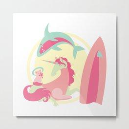Jump the Shark - v1 Metal Print