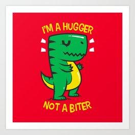 Hugger Biter Art Print