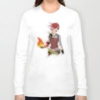 borderlands Long Sleeve T-shirts featuring Lilith by Melissa Smith