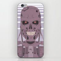 terminator iPhone & iPod Skins featuring Terminator  by avoid peril