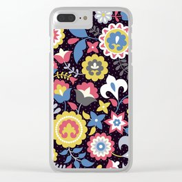 Flowers motives Clear iPhone Case