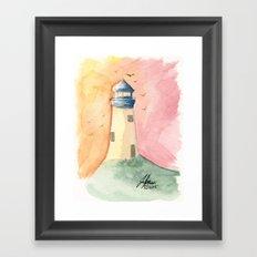 Lighthouse Impressions III Framed Art Print
