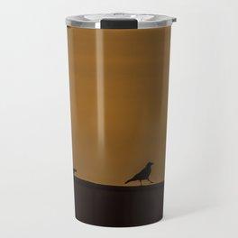 Walking Crow Travel Mug