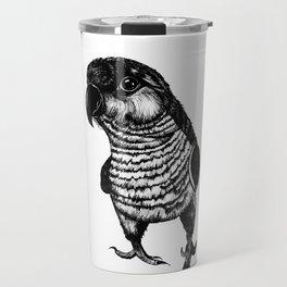 Sketchy Bird Travel Mug