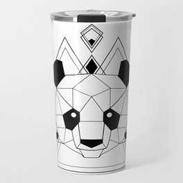 Panda geometric Travel Mug