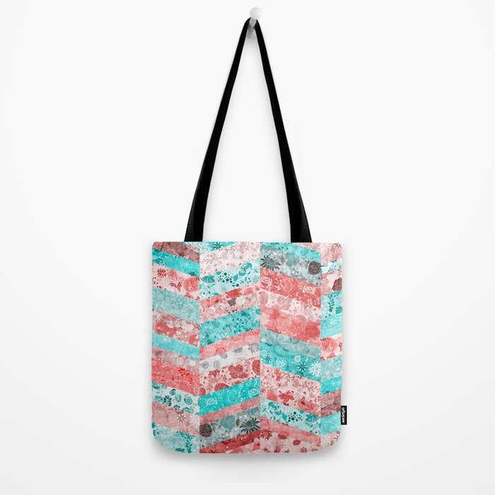 Paris Pattern Tote Bag