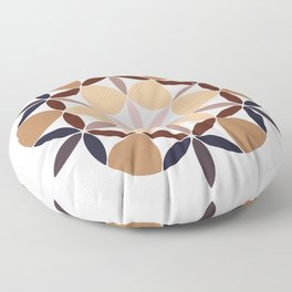 Flower of life - colored Floor Pillow