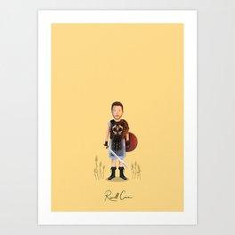 Russell Crowe - Gladiator Art Print