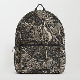 GOOSE CREEK map South Carolina Ink lines 2 Backpack