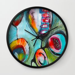 Pleine conscience/Mindfulness Wall Clock