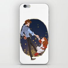 Little Amelia and her Raggedy man. iPhone & iPod Skin