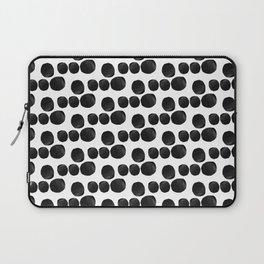 Cut Dot Polka Dot Rhythm Laptop Sleeve