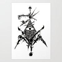 The Eye of Giza Art Print