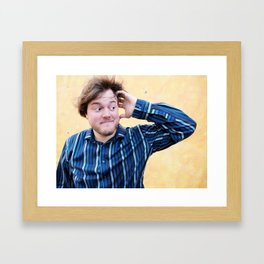 Brock Wilbur September Yellow 2 Framed Art Print