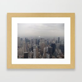new york city Framed Art Print