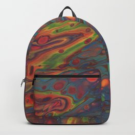 Paint Pouring 68 Backpack