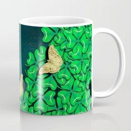 clover and butterflies Coffee Mug