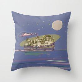 Ocean Cruiser Throw Pillow