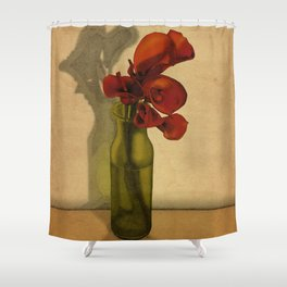 Calla lilies in bloom Shower Curtain