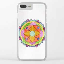 The Medallion Clear iPhone Case