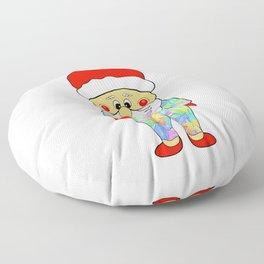 Santa Weed Onesie Floor Pillow