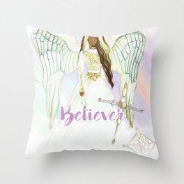 Believer Throw Pillow