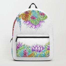 Rainbow Tree Huia Art Backpack