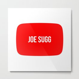 Joe Sugg Metal Print