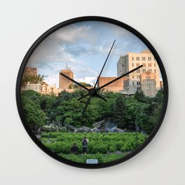 Charest Park - Quebec Wall Clock