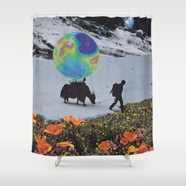 The Last Ice Age Shower Curtain