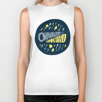 onward Biker Tanks featuring Onward by J. Zachary Keenan