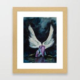 Darkness of an Angel Framed Art Print