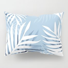 Tropical bliss - chambray blue Pillow Sham