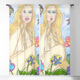 Brilliance Spring Time Blackout Curtain