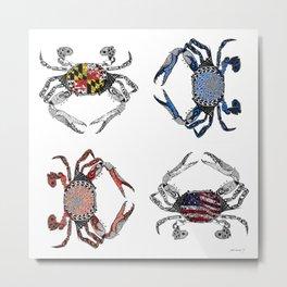 Ol' Crabs Metal Print