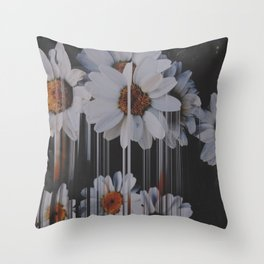 A little pretty, A little Messed up Throw Pillow