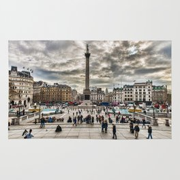 London Trafalgar Square art by @balazsromsics Rug