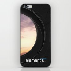 elements   clouds iPhone & iPod Skin
