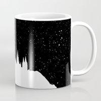 hogwarts Mugs featuring Hogwarts Space by IA Apparel